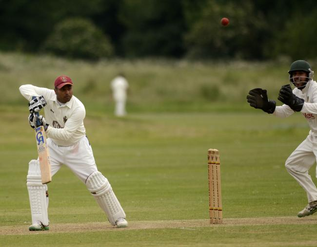 Yaqoot Rafiq top-scored for Slough 2s with 72 runs in the 92-run defeat at Wargrave on Saturday.