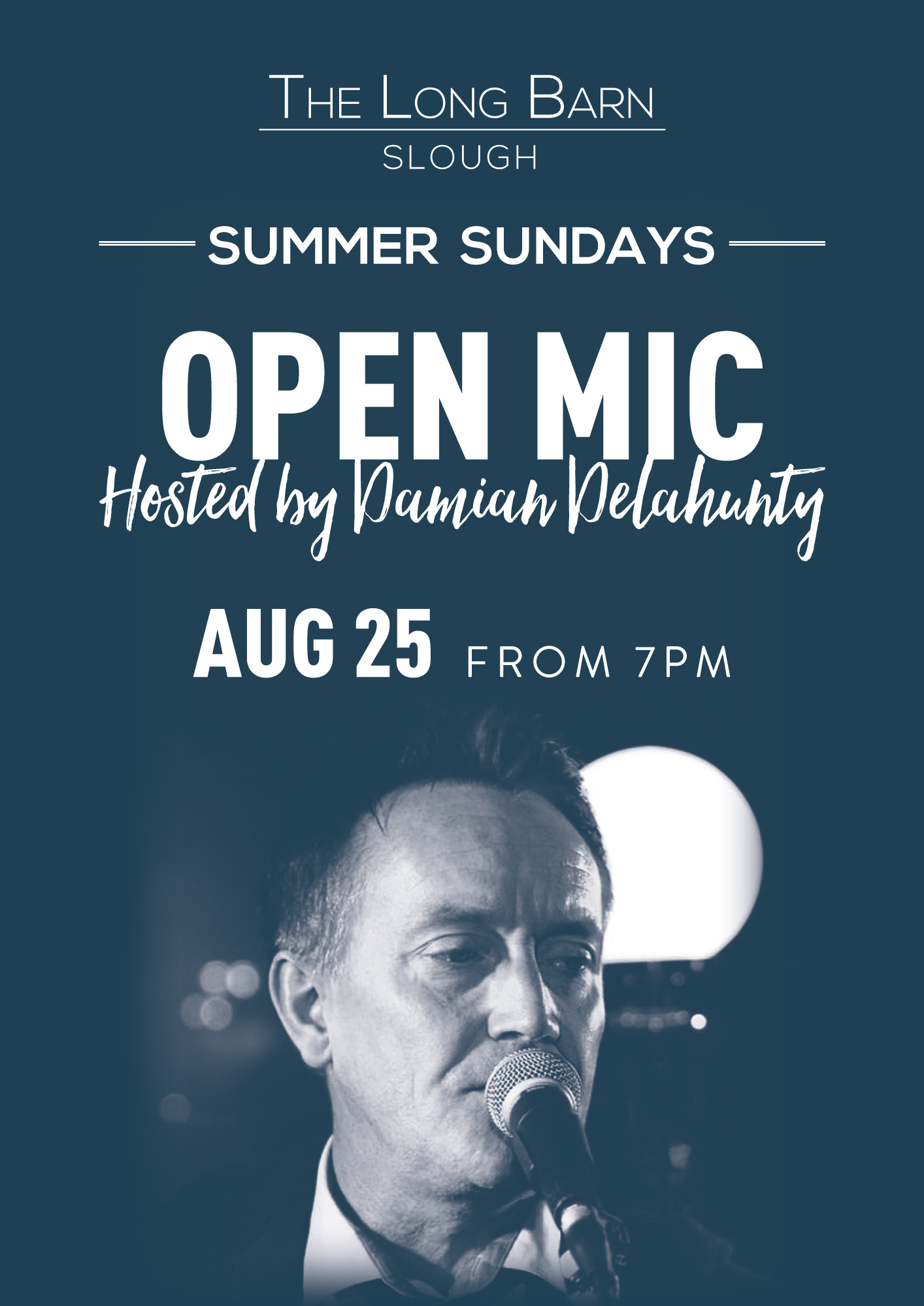 Open Mic with Damian Delahunty