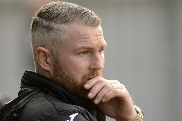 Burnham manager Paul Shone watched his side lose 2-0 to Shrivenham in the Hellenic League Premier Division at The Gore on Saturday.