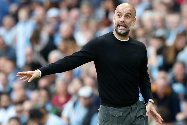 Pep Guardiola accepted the decision after VAR denied Manchester City a late winner against Tottenham