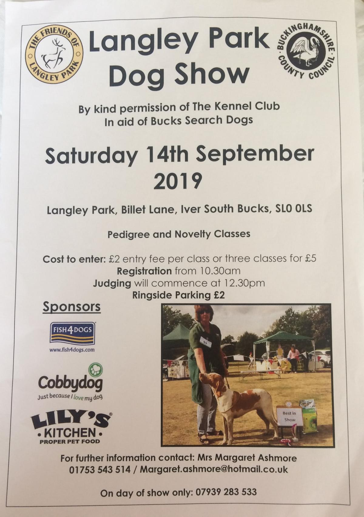 Langley Park Dog Show is coming | Slough Observer