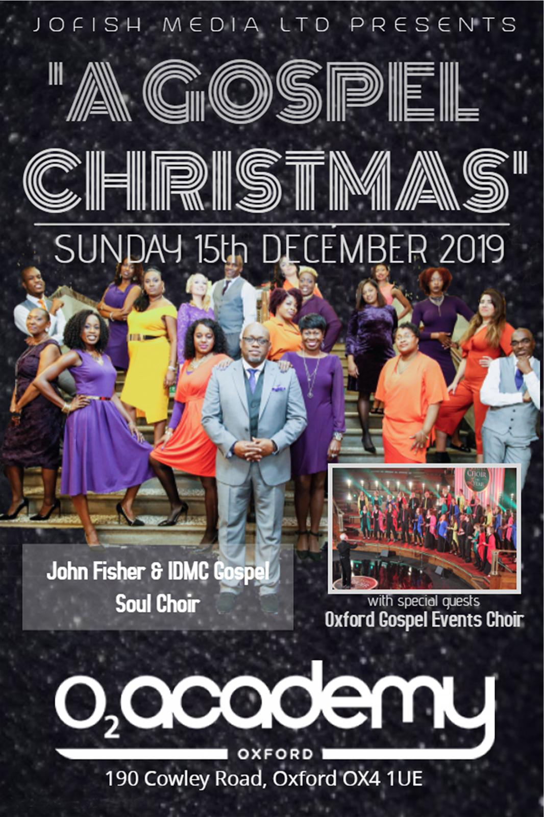 A Gospel Christmas with John Fisher and IDMC Gospel Soul Choir