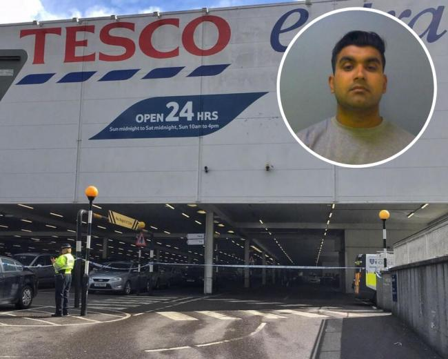 Brutal Tesco car park attacker jailed for life
