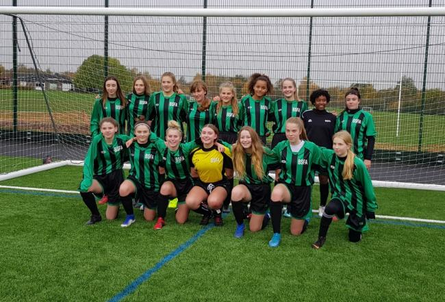 The Berkshire Schools Football Association Under 16s girls team suffered a 4-2 defeat against Herefordshire in the English Schools Inter-Association National Cup.