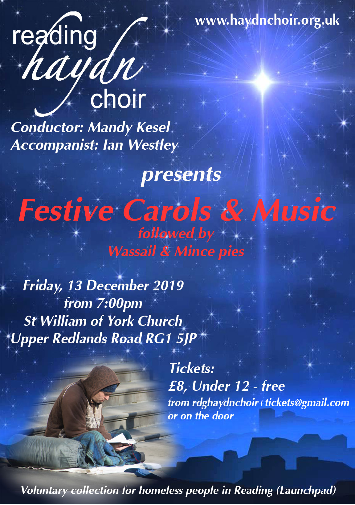 Reading Haydn Choir - Cristmas Carol Concert