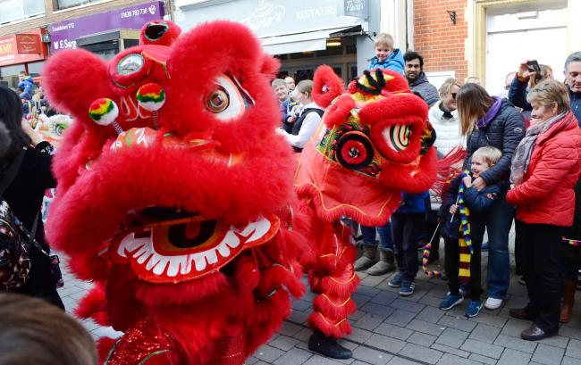 The Chinese New Year - celebrated in Maidenhead