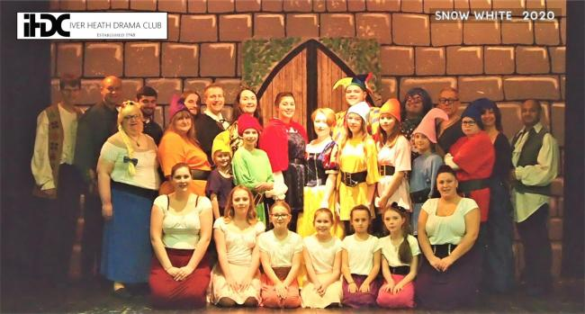 The cast of Snow White