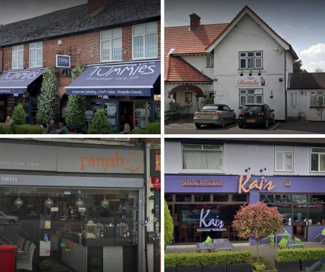 Here are the top five rated restaurants in Slough on Trip Advisor