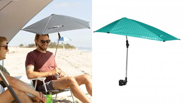 Slough Observer: Take a break from the sun with this clip-on umbrella Credit: Amazon