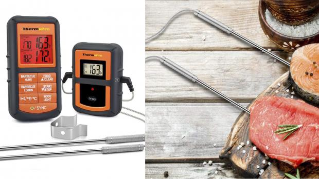 Slough Observer: This probe thermometer is versatile and accurate. Credit: Amazon