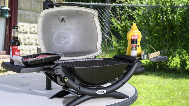 Slough Observer: The Weber Q is a well-made, versatile portable gas BBQ. Credit: Reviewed / Betsey Goldwasser