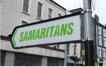 The Samaritans -  a listening ear for people in distress during lockdown