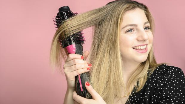 Slough Observer: This Revlon hair dryer brush is better than any hair dryer I've ever used. Credit: Reviewed / Betsey Goldwasser