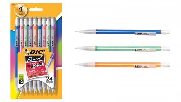 Slough Observer: A fun pencil means a good test, right? Credit: BIC