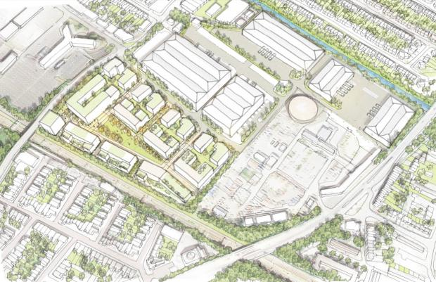 Slough Observer: Overview of the Akzo Nobel site