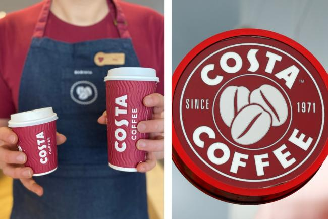 Costa launch new size of coffee, reduce prices and unveil revamped autumn menu. Pictures: Costa Coffee/PA Wire