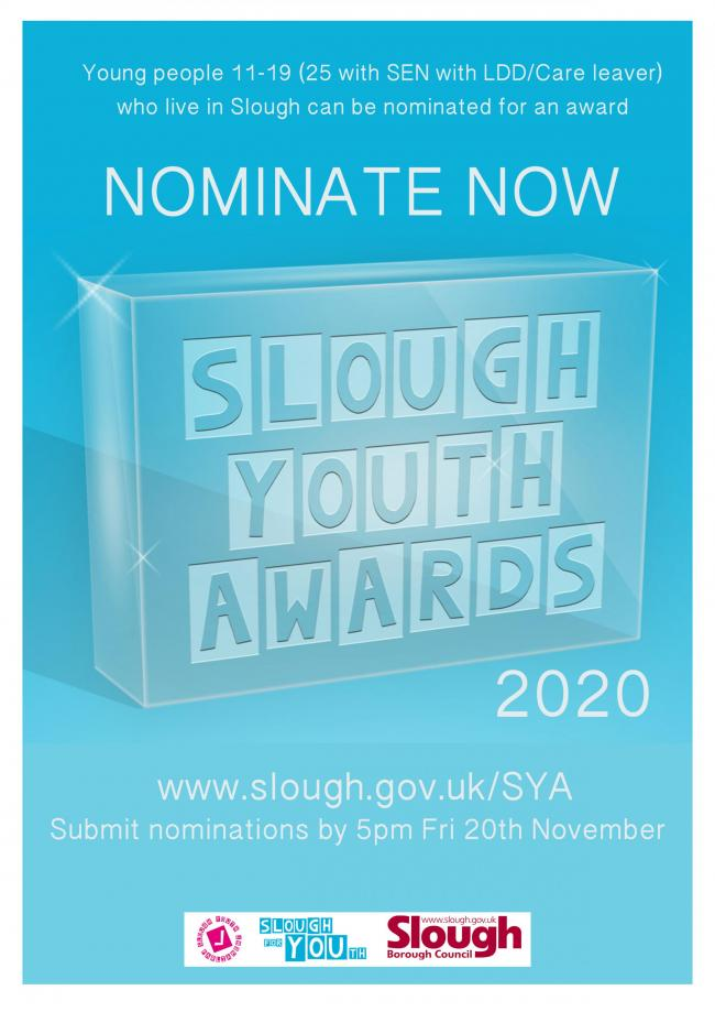 The nomination poster for the Youth Awards