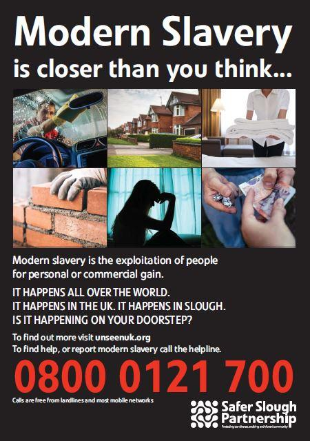 Could your neighbour be using 'modern slaves' - be vigilant call
