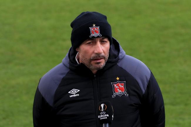Filippo Giovagnoli admitted his hesitation in bringing on fresh players cost Dundalk dear