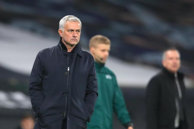Jose Mourinho, pictured, was impressed with Carlos Vinicius on his debut
