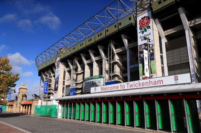 Twickenham is set to host England's match against the Barbarians on Sunday