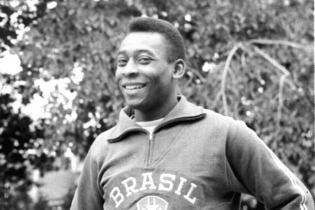Pele helped Brazil win the World Cup for a third time in 1970