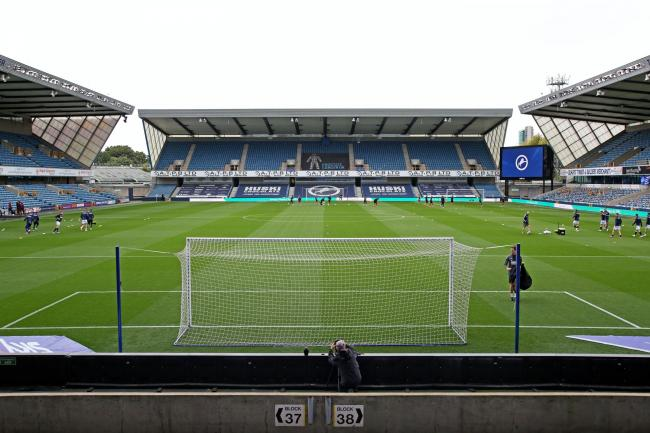 Fans will be back at The Den on Saturday to watch the match against Barnsley - on TV screens