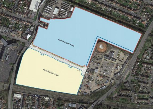 Slough Council set to purchase the south side of the site