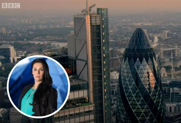 Elle Stevenson on The Apprentice. Pic: BBC