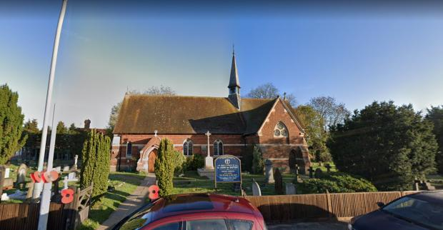 Slough Observer: Removing the existing post-war church hall to the north of the church and replace it with a new fit for purpose flexible church hall. St John the Baptist's Church, Eton Wick Road Eton Wick (21/00571/FULL).