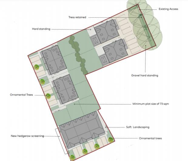 Slough Observer: The site layout