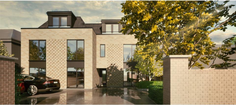 Construction of eight flats at Devonia, Braywick Road, Maidenhead (21/00297/FULL).