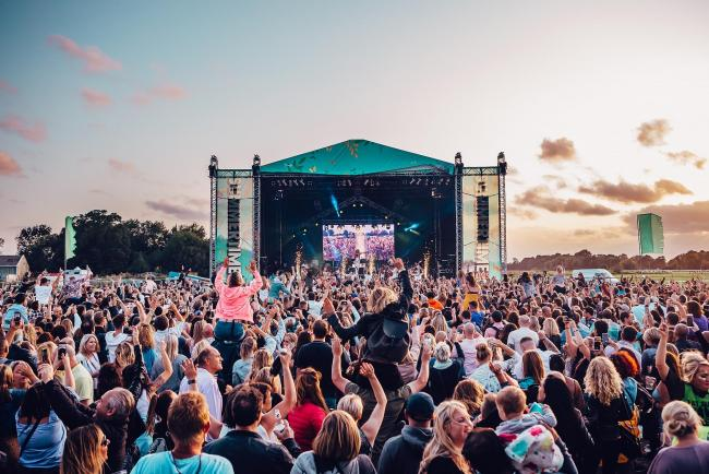 Summertime Live is being held at Windsor Racecourse this August