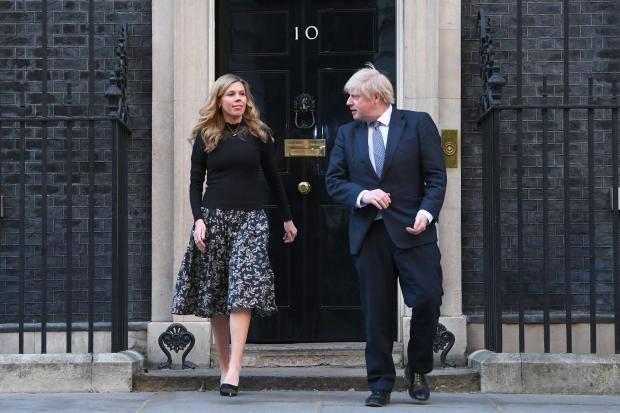 Slough Observer: The Prime Minister and his fiancee Carrie Symonds have faced questions over the funding of their renovations to the 11 Downing Street flat (Victoria Jones/PA)