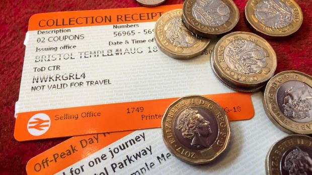 Slough Observer: Rail ticket stock images. (PA)