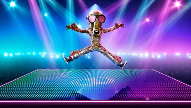 Slough Observer: Tearing up the dancefloor,it'sZip. (ITV)
