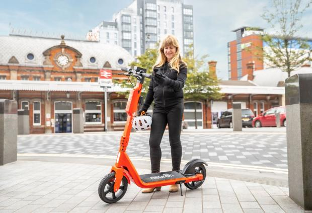 Slough Observer: The e-scooter trial was launched in September 2020
