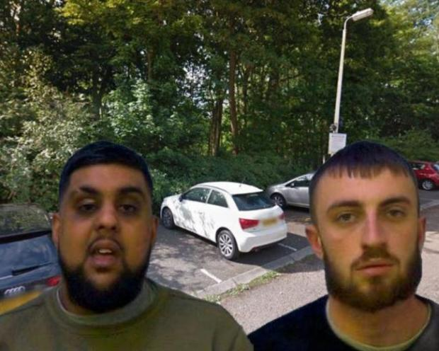 Slough Observer: Ali (left) and Finlay (right)