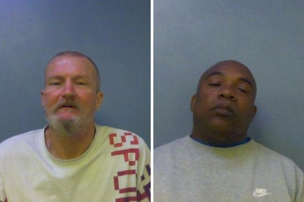 Slough Observer: Grice (left) and Barnett (right)