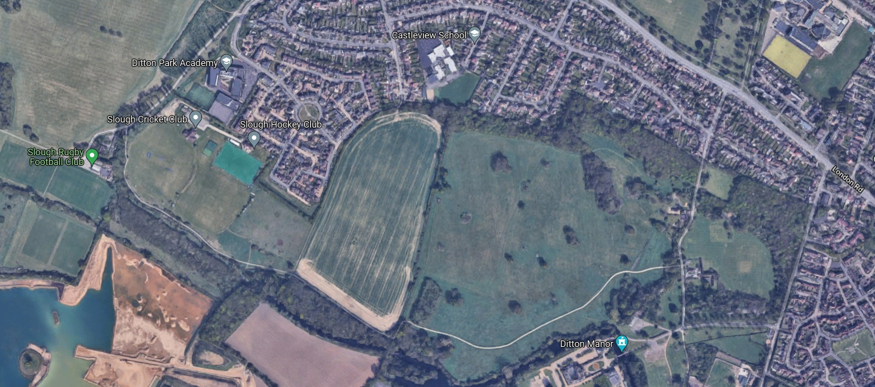 Land to the south of Blenheim Road could be released for new housing