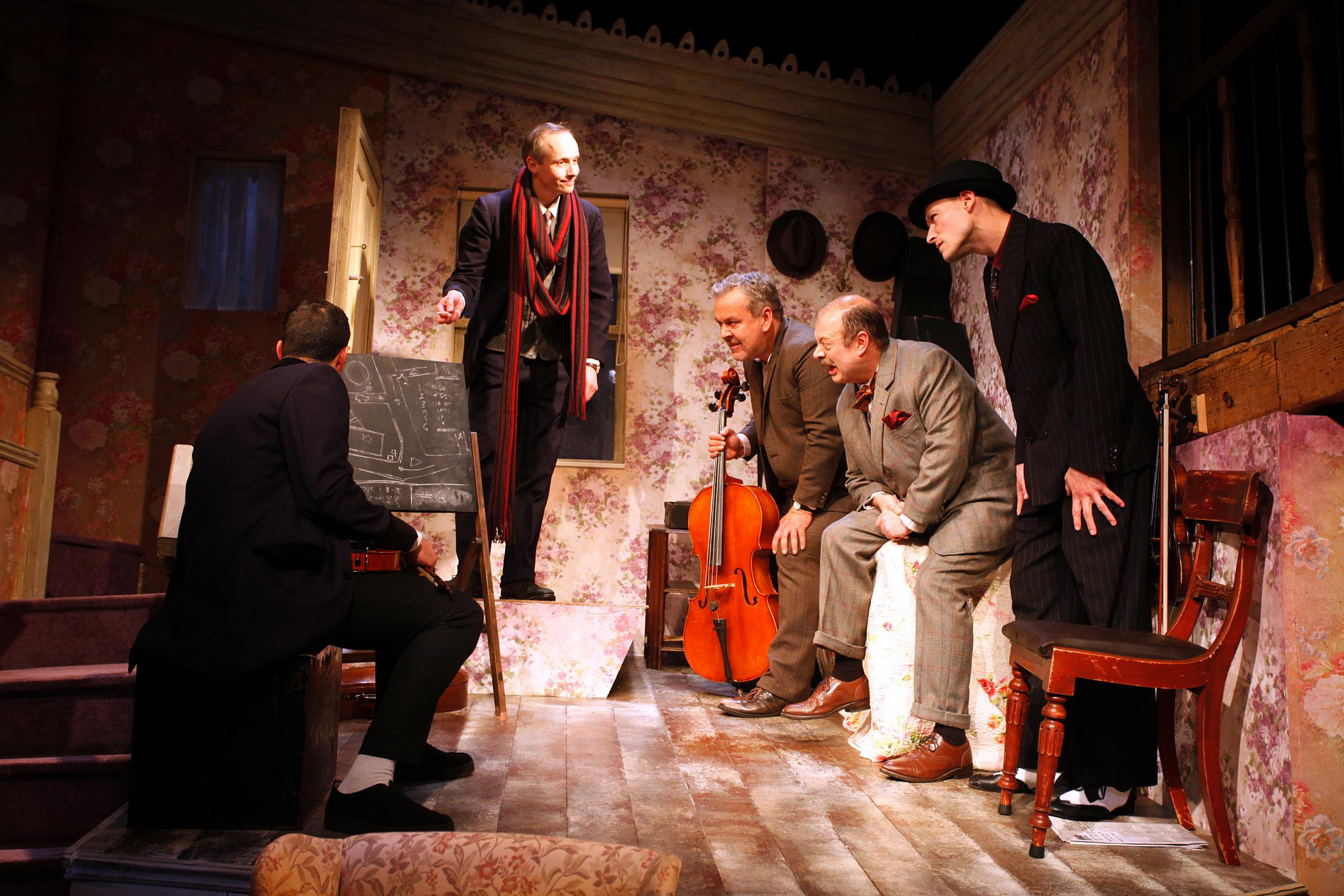 First night review: The Ladykillers