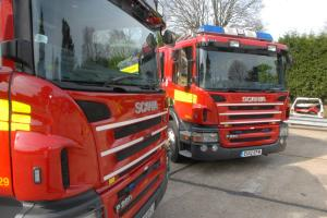 Adult and child taken to hospital after Stoke Poges collision