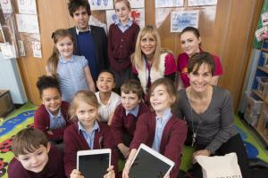 After school club given fun Samsung tablets by property developers