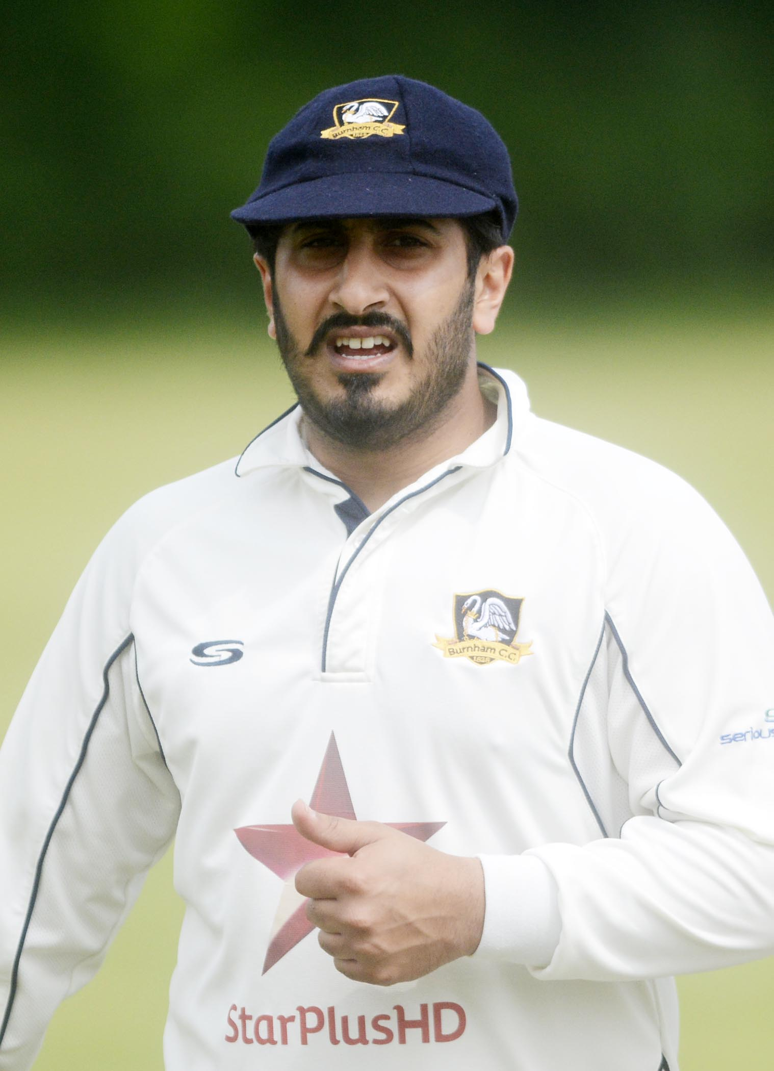 "Burnham captain Harveer Gandam: ""It's like we are having a mid-life, mid-season crisis. We had strong words in the week but I know I need to lead by example."
