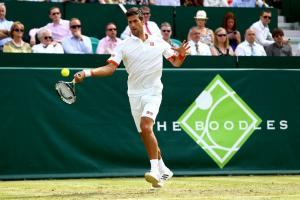 Novak Djokovic is among the tennis superstars who have played at The Boodles in previous years.