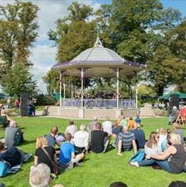 The concert will be held at Windsor's new bandstand this Sunday