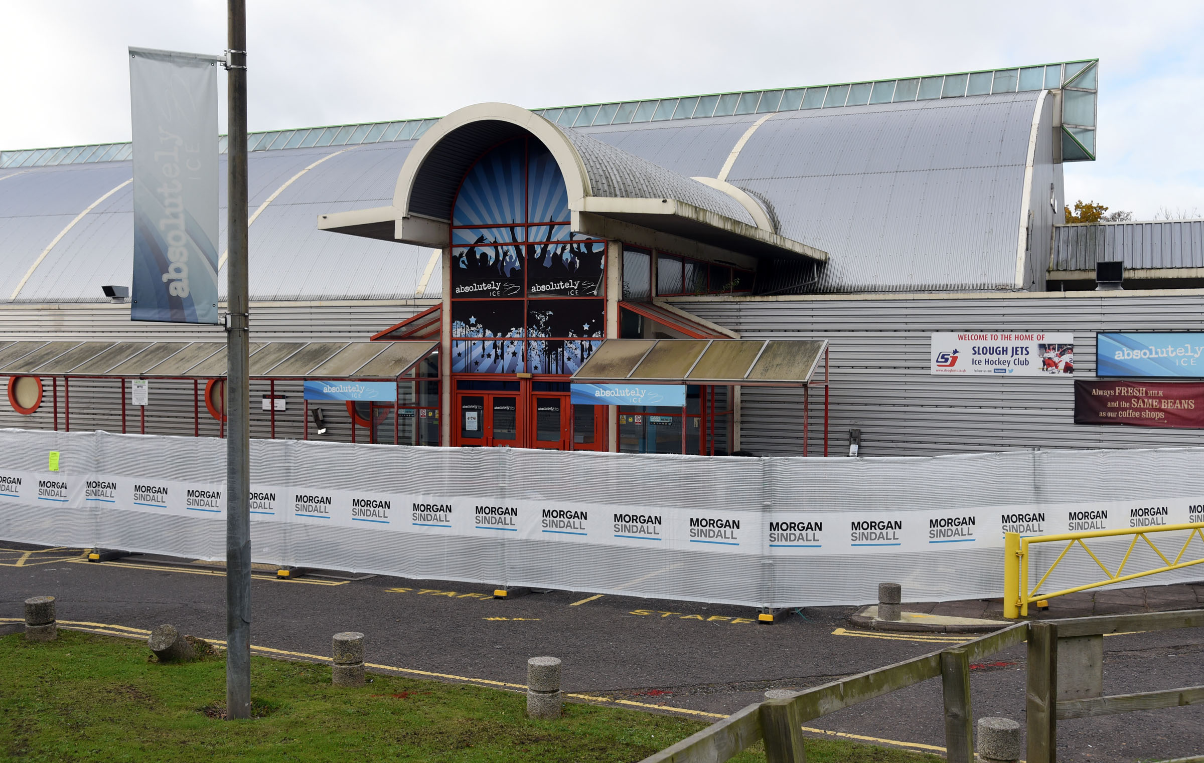 Junior head coach Ben Pitchley will leave Slough Jets and Slough Ice Arena (pictured) for Romford.