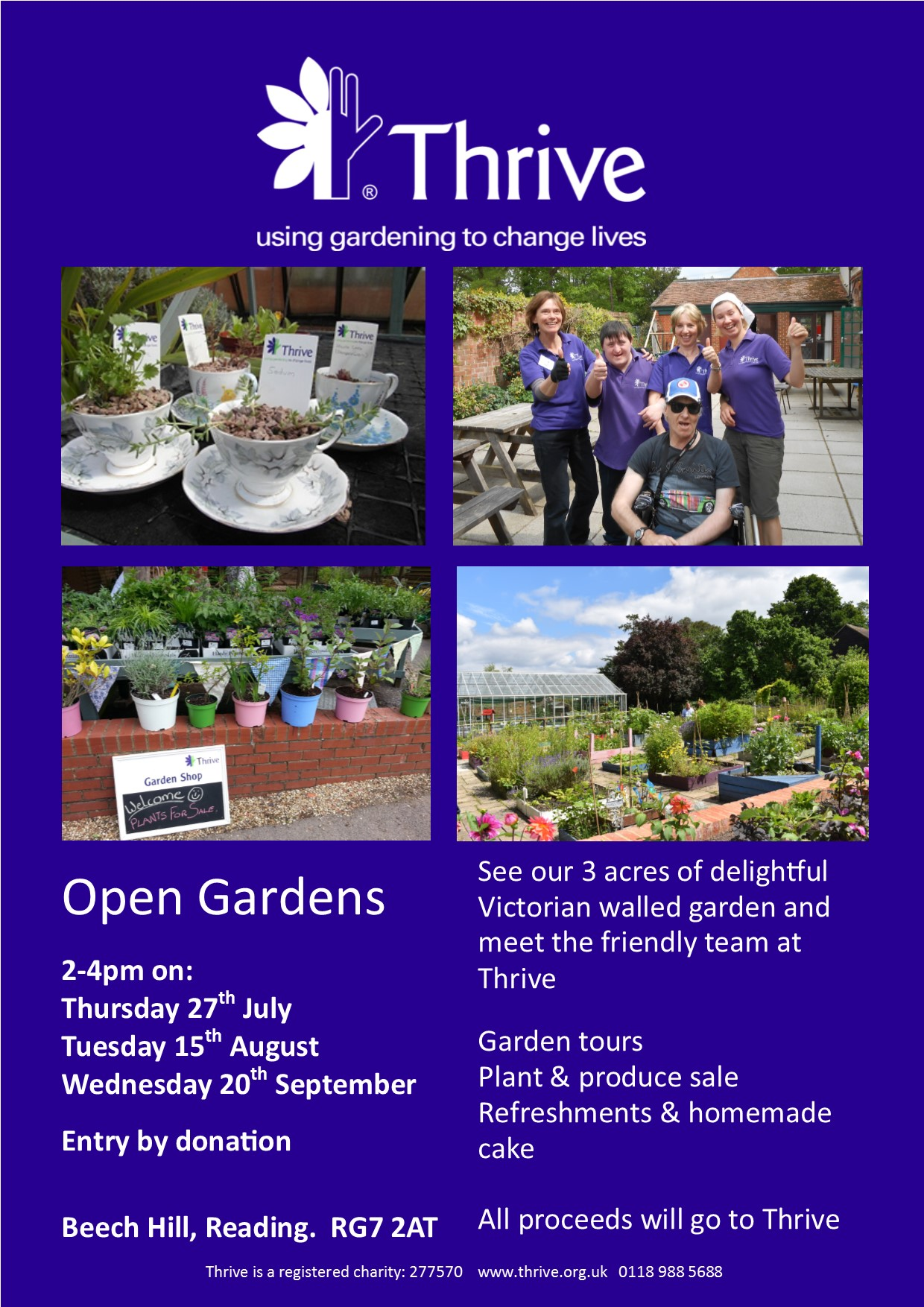 Thrive Open Gardens