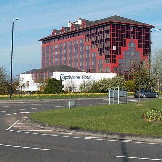 Copthorne Hotel in Slough. PHOTO: Jaggery