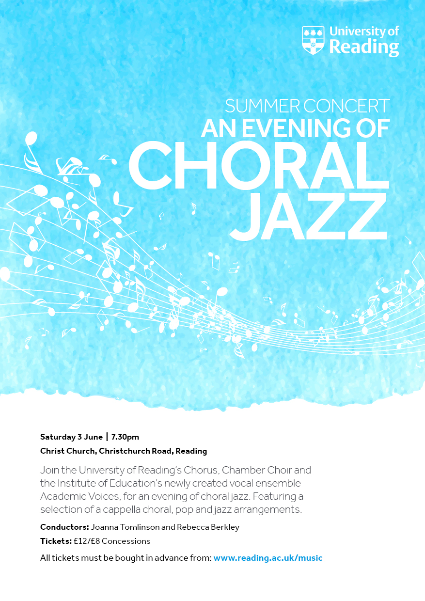 Summer Concert: An evening of choral jazz